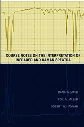 Course Notes on the Interpretation of Infrared and Raman Spectra by Dana W. Mayo