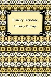 Framley Parsonage by Anthony Trollope