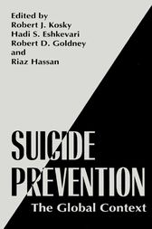 Suicide Prevention by Robert J. Kosky