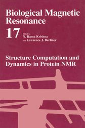 Structure Computation and Dynamics in Protein NMR by N. Rama Krishna
