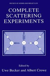 Complete Scattering Experiments by Uwe Becker