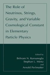The Role of Neutrinos, Strings, Gravity, and Variable Cosmological Constant in Elementary Particle Physics by Behram N. Kursunogammalu