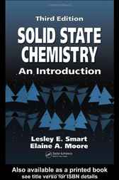 Solid State Chemistry, 3rd Edition by Lesley E. Smart