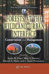 Forests at the Wildland-Urban Interface by Susan W. Vince