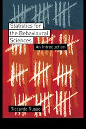 Statistics for the Behavioural Sciences by Riccardo Russo