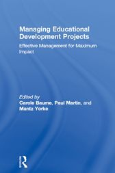 Managing Educational Development Projects by Carole Baume