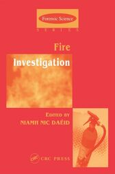 Fire Investigation by Niamh Nic Daeid