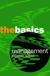 Management: The Basics by Morgen Witzel