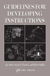 Guidelines for Developing Instructions by Kay Inaba