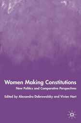 Women Making Constitutions by Alexandra Dobrowolsky