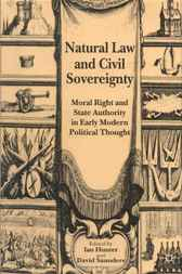 Natural Law and Civil Sovereignty by Ian Hunter