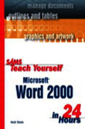 Sams Teach Yourself Microsoft Word 2000 in 24 Hours, Adobe Reader by Heidi Steele