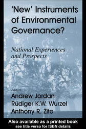 New Instruments of Environmental Governance? by Andrew Jordan