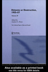 The Collected Papers of Bertrand Russell Volume 29 by Bertrand Russell