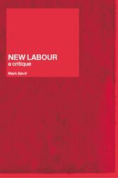 New Labour by Mark Bevir