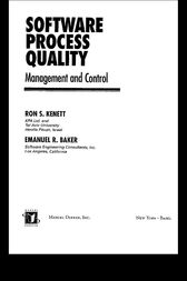 Software Process Quality by Ron S. Kenett