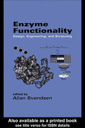 Enzyme Functionality by Allan Svendsen