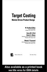 Target Costing by M. Bradford Clifton