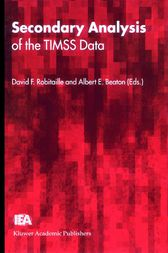 Secondary Analysis of the TIMSS Data by David F. Robitaille