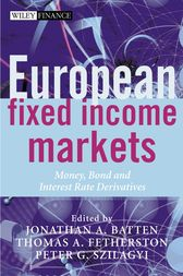 European Fixed Income Markets by Jonathan A. Batten