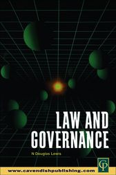 Law and Governance by N. Douglas Lewis