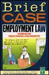 Briefcase Employment Law by Charles Barrow