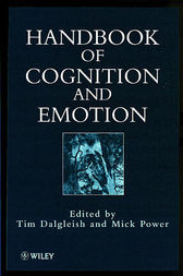 Handbook of Cognition and Emotion by Tim Dalgleish