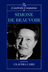 The Cambridge Companion to Simone de Beauvoir by Claudia Card