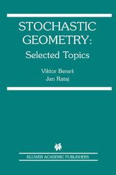 Stochastic Geometry by Viktor Benes