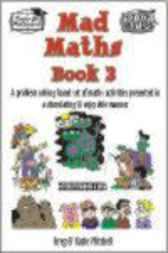 Mad Math for Middle School Students Book 3 by Greg Mitchell