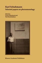 Karl Schuhmann, Selected papers on phenomenology by Karl Schuhmann