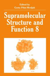 Supramolecular Structure and Function 8 by Greta Pifat-Mrzljak