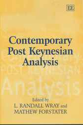 Contemporary Post Keynesian Analysis by L.R. Wray