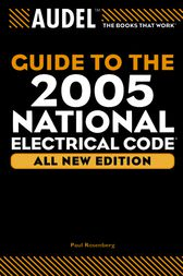 Audel Guide to the 2005 National Electrical Code by Paul Rosenberg