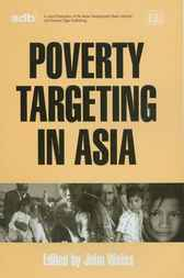 Poverty Targeting in Asia by J. Weiss