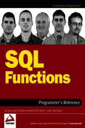 SQL Functions Programmer's Reference by Arie Jones