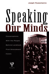 Speaking Our Minds by Joseph Russomanno