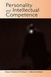 Personality and Intellectual Competence by Tomas Chamorro-Premuzic