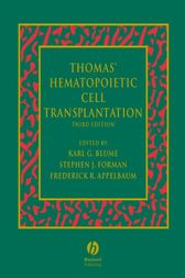 Thomas' Hematopoietic Cell Transplantation by Karl G. Blume