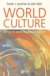 World Culture by Frank J. Lechner