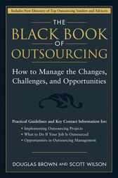 The Black Book of Outsourcing by Douglas Brown
