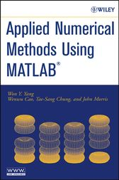 Applied Numerical Methods Using MATLAB by Won Y. Yang