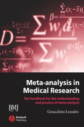 Meta-analysis in Medical Research by Gioacchino Leandro