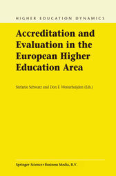 Accreditation and Evaluation in the European Higher Education Area by Stefanie Schwarz