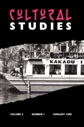 Cultural Studies by JOHN FISKE