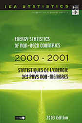 Energy Statistics of Non-OECD Countries by Organisation for Economic Co-operation and Development