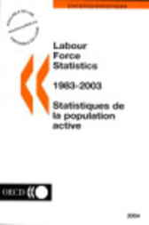 Labour Force Statistics 1983-2003 by Organisation for Economic Co-operation and Development