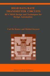 High Data Rate Transmitter Circuits by C.J. de Ranter