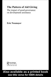 The Pattern of Aid Giving by Eric Neumayer