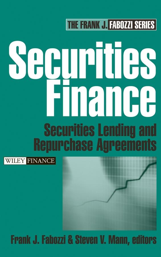 Download Ebook Securities Finance by Frank J. Fabozzi Pdf